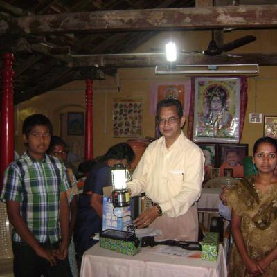 Demo Of Solar Lantern Operation By Mt