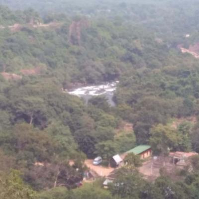A View Of The Papanasam Hills On Way To School