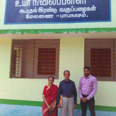 Dpfselco Reps In Front Of School Classroom