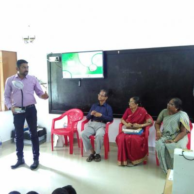 Nambirajan Selco Explains Tech Features Of Solar Lamp