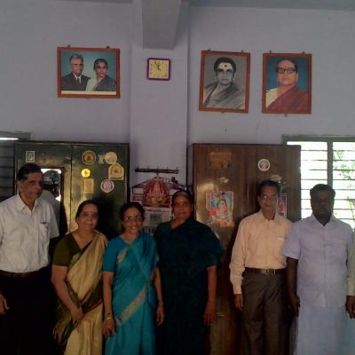 L R. Nambi Rajan Selco S.g Subramanian Wife Nalini Parthasarathy Lalitha Hostel Warden Vp Sarathy Mt Dpf Pandian Hm Dr. Jeganathan Consultant Selco